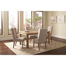 coaster solomon rectangular table set with wingback chairs value