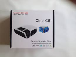 led tv home theater package luxcine c5d mini portable dlp led 3d projector home theater tv