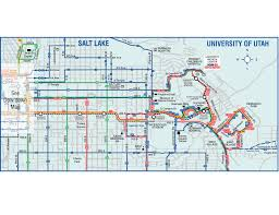 Utah Maps by University Of Utah Map Transport Map U2022 Mapsof Net