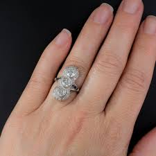 image result for two pear shaped vertical stone ring bling bling