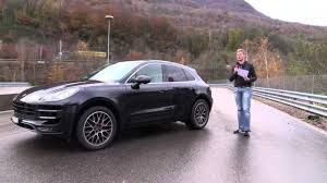 porsche macan turbo test porsche macan turbo test drive prova su strada