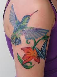 half sleeve hummingbird and butterfly creativefan