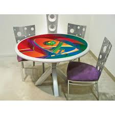 colorful dining room sets home design ideas