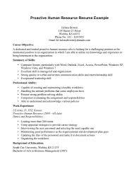 download human resources resume objective haadyaooverbayresort com