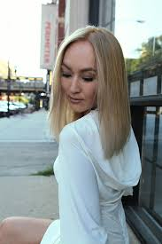 edgy salon haircuts chicago how to grown out ombre transformed into an edgy blonde lob