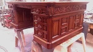 Presidential Desks Handmade Replica President Richard Nixon Desk By Lundberg Bros