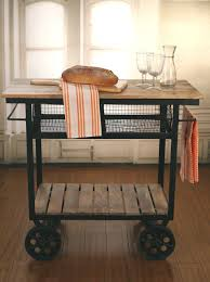 kitchen island trolley industrial style kitchen trolley kitchen island on metal wheels