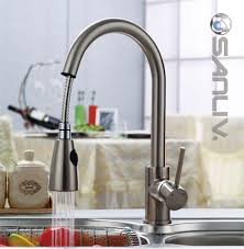 kitchen sink and faucet pullout spray kitchen sink faucet 28108 pullout spray kitchen
