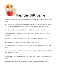 pass the gift baby shower game best shower