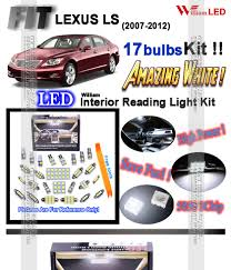 lexus ls460 price thailand 17 bulbs xenon white led interior light kit room lamps for lexus