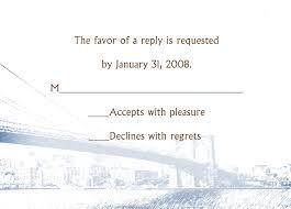 wedding rsvp wording exles invitations wedding response card wording exles of rsvp
