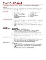 sales associate skills list for resume resume ideas