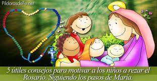 imagenes de virgen maria infantiles 5 consejos para motivar a los niños a rezar el rosario imitando a maría