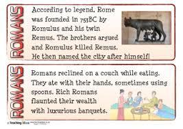 romans teaching ideas