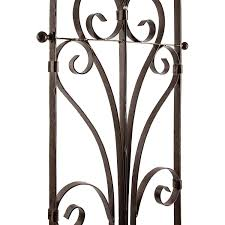 amazon com h potter italian iron garden trellis durable elegant