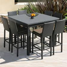 Patio Furniture Counter Height Table Sets Furniture Bar Height Table Luxury Bar Height Outdoor Dining Within