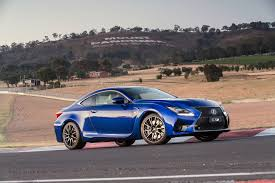 lexus rc f coupe lexus rc f coupe as halo model for f performance brand