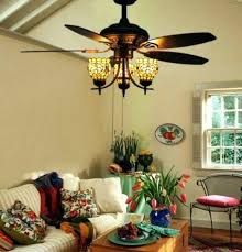 Stained Glass Ceiling Fan Light Shades Stained Glass Ceiling Fan Light Awesome For Throughout 12