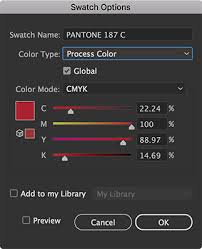 converting spot color to process color in illustrator or indesign