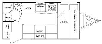 18 bunk bed rv floor plans oakmont by heartland woody s rv