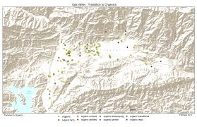 Ojai California Map Organic Ojai Map Project Transition To Organics