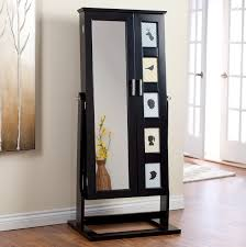 Simple Bedroom Cabinet Design With Mirror Furniture Beautiful Black Jewelry Armoire For Home Furniture