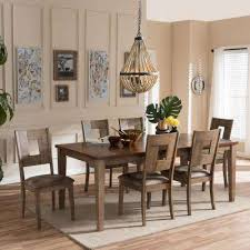 Dining Room Sets With Wheels On Chairs Wood Dining Room Sets Kitchen Furniture Amazon Com 4 Shop Ethan