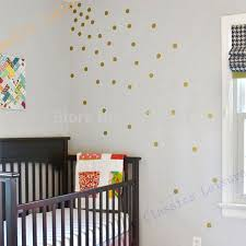 aliexpress com buy free shipping variety of sizes gold vinyl aliexpress com buy free shipping variety of sizes gold vinyl wall sticker decal art polka dots gold polka dots for nursery wall from reliable decal
