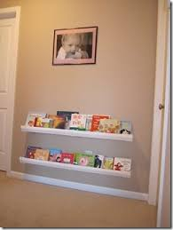 Vinyl Rain Gutter Bookshelves - 115 best bookshelves images on pinterest book storage library