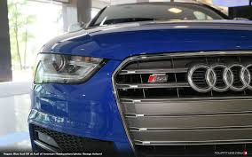 audi headquarters audi exclusive nogaro blue s4 spotted at audi of america