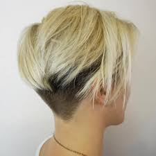 short hair with length at the nape of the neck 50 women s undercut hairstyles to make a real statement