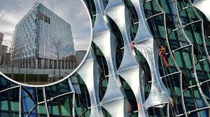 london glass building us embassy america shows off its thames fortress news the times