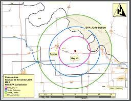 Occ Map Shale Oil The Cushing Earthquake Necessitates A Regulatory