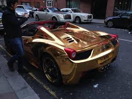 gold ferrari wallpaper golden car 20 hd wallpapers download hdwallpaper