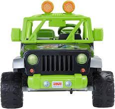 power wheels jeep frozen amazon com fisher price power wheels teenage mutant ninja turtle