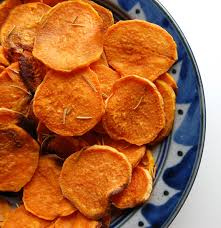 How To Cook A Potato In A Toaster Oven Easy Homemade Sweet Potato Chips Omg So Good Paleo Grubs