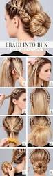 a collection of 23 super chic bun hairstyle tutorials styles weekly