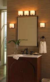 Vertical Bathroom Lights by Bathroom Multicolor Oval Plastic Lights Above Mirror Lodge