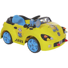 car toys black friday sale minions 6 volt rocket car electric battery powered ride on