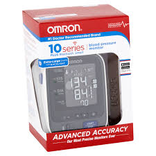 Good Warranty C2 B8 Official Store C2 B8 Simple Steps Omron 10 Plus Series Bluetooth Smart Blood Pressure Monitor