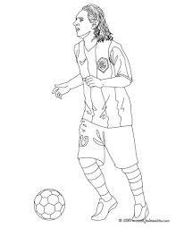 coloriage du joueur de foot lionel messi à imprimer gratuitement