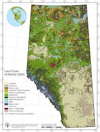 Map Alberta Canada by Maps The Last Great Intact Forest Landscapes Of Canada Atlas Of