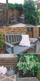 Ideas For Painting Garden Furniture by Best 25 Garden Makeover Ideas On Pinterest Simple Garden