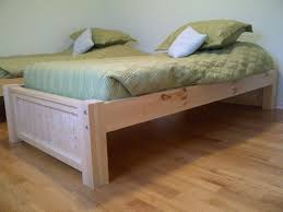 How To Build Platform Bed King Size by Best 25 Platform Bed Plans Ideas On Pinterest Queen Platform