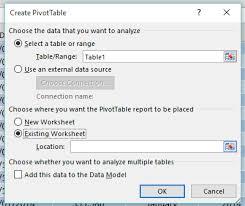 multiple excel pivot tables free microsoft excel tutorials