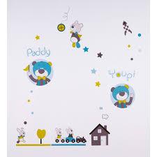 stickers chambre de bebe stickers chambre bébé paddy de sauthon baby deco sur allobébé