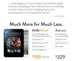 apple sells out of all ipad mini models as amazon pans its price