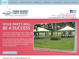 party rental mn three rivers party rentals party rentals dover mn