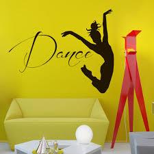 wall vinyl decals dancer decal home dance studio decor mural
