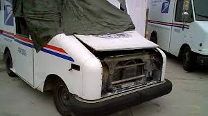 mail jeep for sale postal vehicle wrecks mail truck testing the creative vado youtube